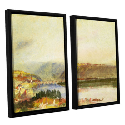Brushstone Givet from The North 2-pc. Floater Framed Canvas Wall Art