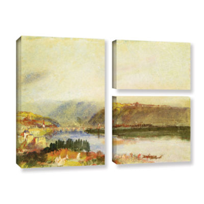 Brushstone Givet from The North 3-pc. Flag GalleryWrapped Canvas Wall Art