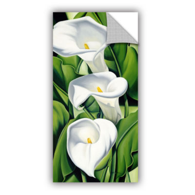 Brushstone Lillies  2002 Removable Wall Decal
