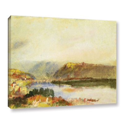 Brushstone Givet from The North Gallery Wrapped Canvas Wall Art