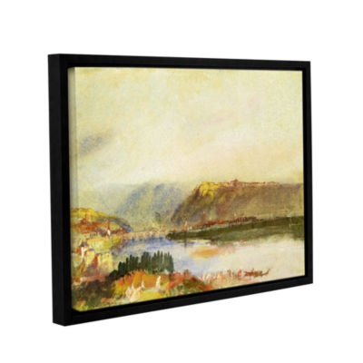Brushstone Givet from The North Gallery Wrapped Floater-Framed Canvas Wall Art