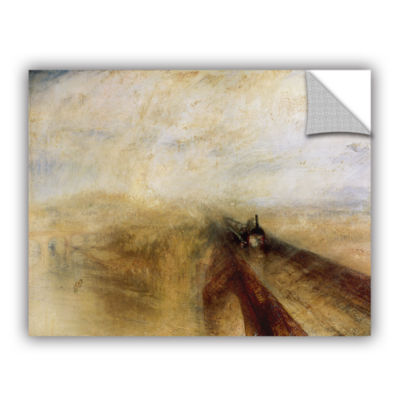 Brushstone Rain Steam and Speed; The Great WesternRailway II Removable Wall Decal
