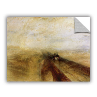 Brushstone Rain Steam and Speed; The Great WesternRailway Removable Wall Decal