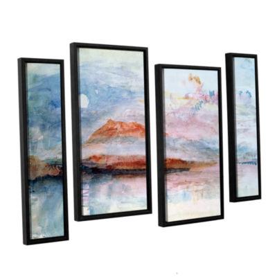 Brushstone Righi; After 1830 4-pc. Floater FramedStaggered Canvas Wall Art