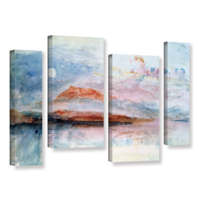 Brushstone Righi; After 1830 4-pc. Gallery WrappedStaggered Canvas Wall Art