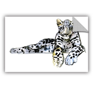 Brushstone Arabian Leopard II Removable Wall Decal