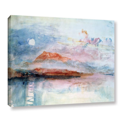 Brushstone Righi; After 1830 Gallery Wrapped Canvas Wall Art