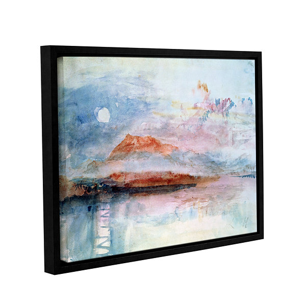 Brushstone Righi; After 1830 Gallery Wrapped Floater-Framed Canvas Wall Art