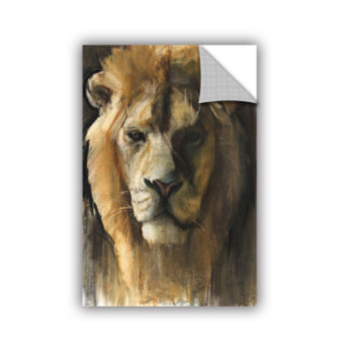 Brushstone Asiatic Lion Removable Wall Decal