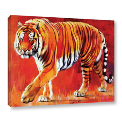 Brushstone Bengal Tiger Gallery Wrapped Canvas