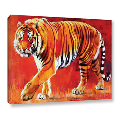 Brushstone Bengal Tiger Gallery Wrapped Canvas Wall Art