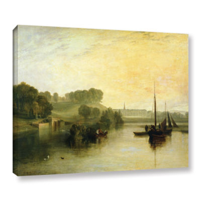 Brushstone Susse by The Seat of The Earl of Egremont Dewy Morning Gallery Wrapped Canvas Wall Art