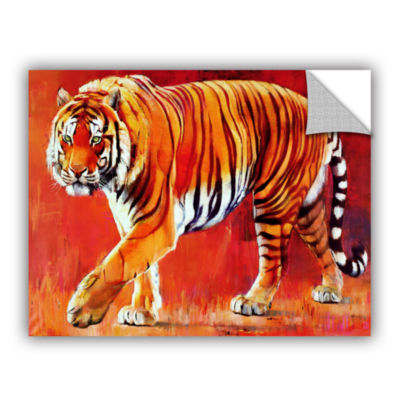 Brushstone Bengal Tiger Removable Wall Decal