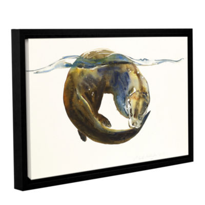 Brushstone Circle of Life Gallery Wrapped Floater-Framed Canvas Wall Art