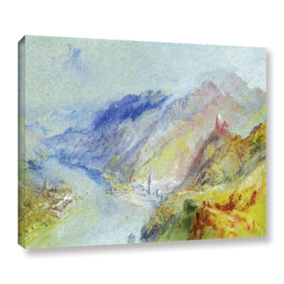 Brushstone The Castle of Trausnitz Overlooking Landshut Gallery Wrapped Canvas Wall Art