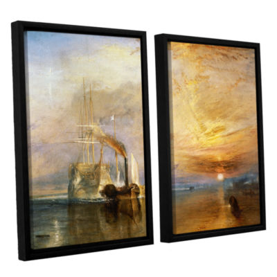Brushstone The Fighting Temeraire 2-pc. Floater Framed Canvas Wall Art