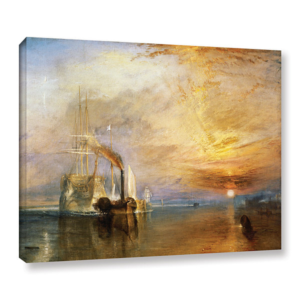 Brushstone The Fighting Temeraire Gallery WrappedCanvas Wall Art