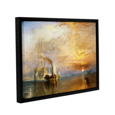 Brushstone The Fighting Temeraire Gallery WrappedFloater-Framed Canvas Wall Art