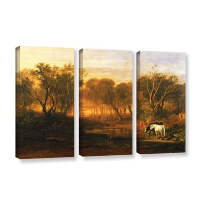 Brushstone The Forest of Bere 3-pc. Gallery Wrapped Canvas Wall Art