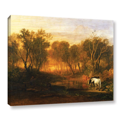 Brushstone The Forest of Bere Gallery Wrapped Canvas Wall Art