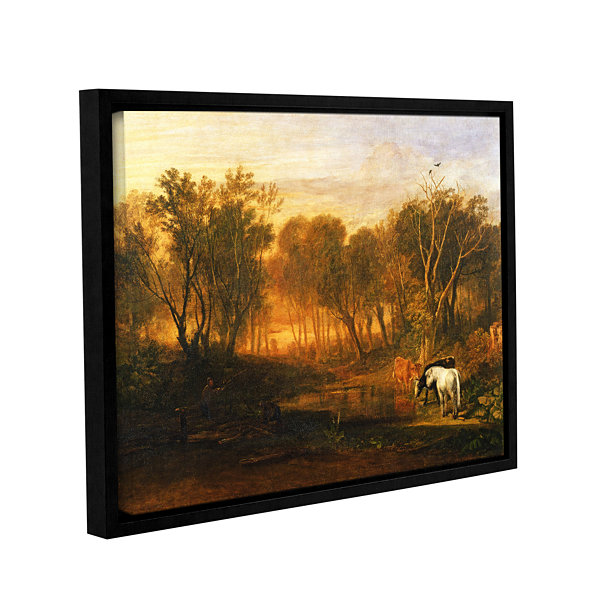 Brushstone The Forest of Bere Gallery Wrapped Floater-Framed Canvas Wall Art