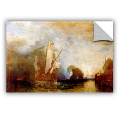 Brushstone Ulysses Deriding Polyphemus Removable Wall Decal