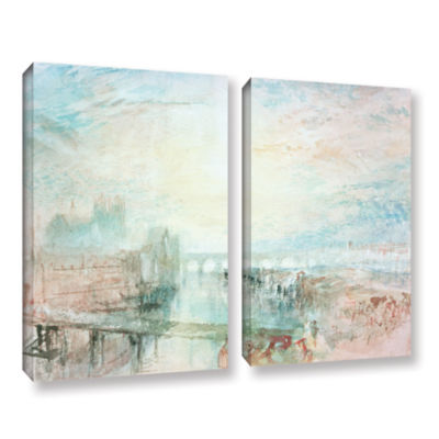 Brushstone View of Lyons 2-pc. Gallery Wrapped Canvas Wall Art