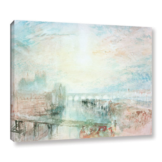 Brushstone View of Lyons Gallery Wrapped Canvas Wall Art