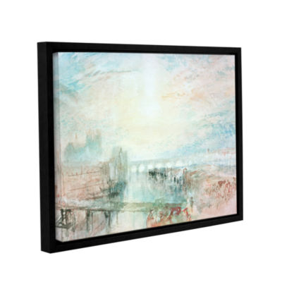 Brushstone View of Lyons Gallery Wrapped Floater-Framed Canvas Wall Art