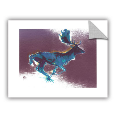 Brushstone Flying Friesian Removable Wall Decal