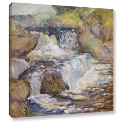 Brushstone The Cascade; c.1889 Gallery Wrapped Canvas Wall Art