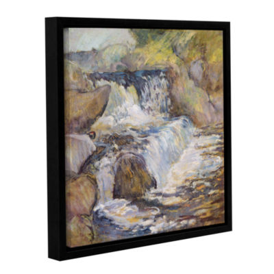Brushstone The Cascade; c.1889 Gallery Wrapped Floater-Framed Canvas Wall Art