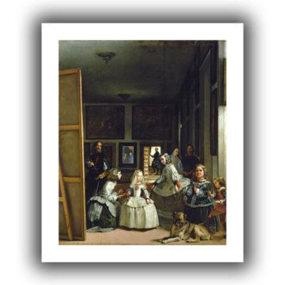 Brushstone Las Meninas Or Family Of Phillip IV Canvas Wall Art