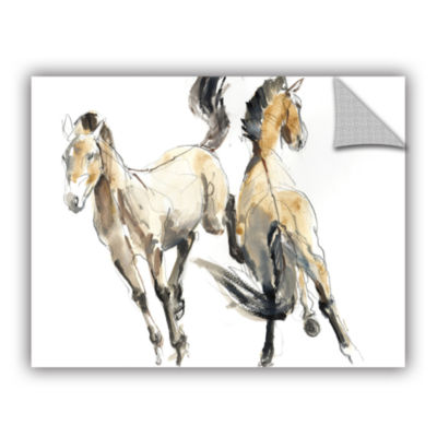 Brushstone Horsing Removable Wall Decal