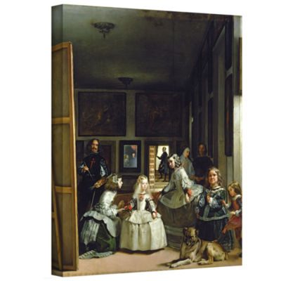 Brushstone Las Meninas Or Family Of Phillip IV Gallery Wrapped Canvas Wall Art