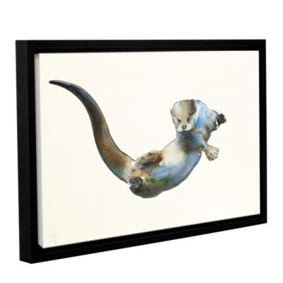 Brushstone Hunter Gallery Wrapped Floater-Framed Canvas Wall Art