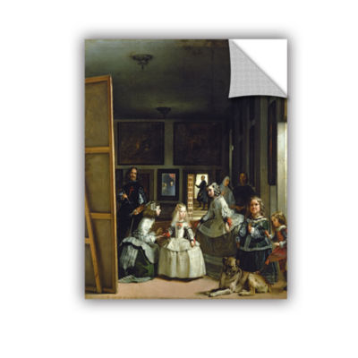 Brushstone Las Meninas Or Family Of Phillip IV Removable Wall Decal