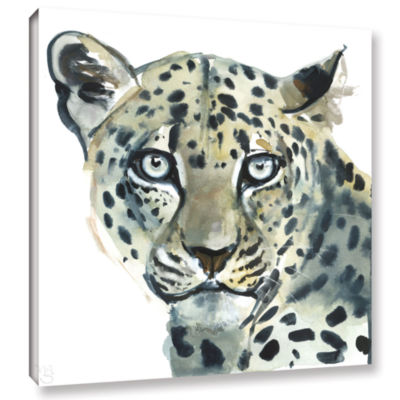 Brushstone Leopard Gallery Wrapped Canvas Wall Art