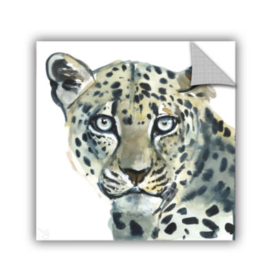 Brushstone Leopard Removable Wall Decal