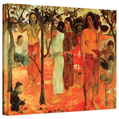 Brushstone Nave Nave Mahana (Delightful Days) Gallery Wrapped Canvas Wall Art