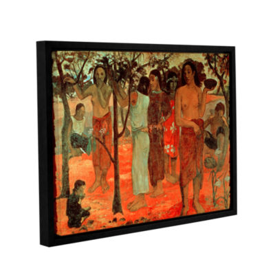 Brushstone Nave Nave Mahana (Delightful Days) Gallery Wrapped Floater-Framed Canvas Wall Art