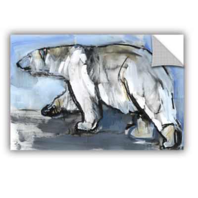 Brushstone Polar Removable Wall Decal