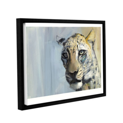 Brushstone Predator Gallery Wrapped Floater-FramedCanvas Wall Art
