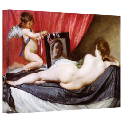 Brushstone The Rokeby Venus Gallery Wrapped CanvasWall Art