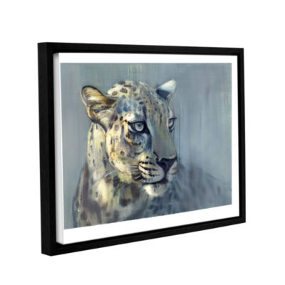 Brushstone Predator II Gallery Wrapped Floater-Framed Canvas Wall Art