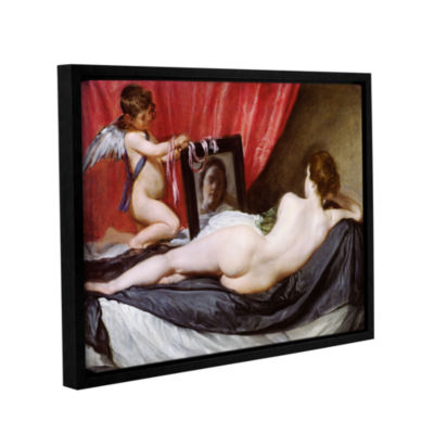Brushstone The Rokeby Venus Gallery Wrapped Floater-Framed Canvas Wall Art