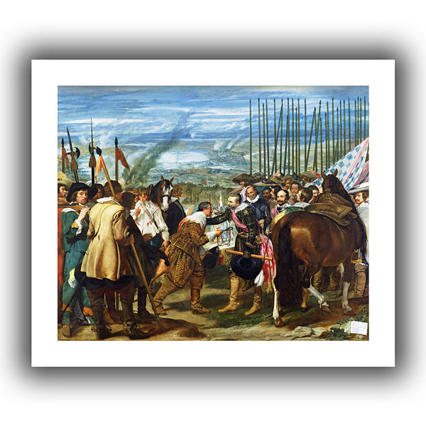 Brushstone The Surrender Of Breda Canvas Wall Art