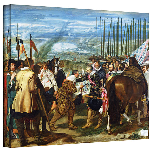 Brushstone The Surrender Of Breda Gallery WrappedCanvas Wall Art