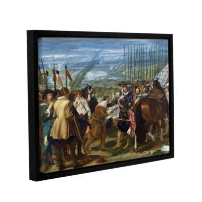 Brushstone The Surrender Of Breda Gallery WrappedFloater-Framed Canvas Wall Art
