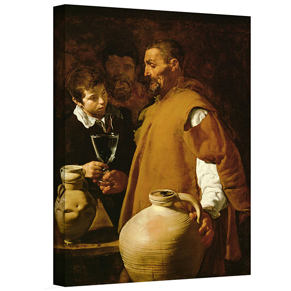 Brushstone Waterseller Of Seville Gallery WrappedCanvas Wall Art